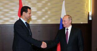 بوتين يهنئ الأسد بفوزه في انتخابات الرئاسة السورية