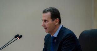 زعيم خليجي يبعث برقية تهنئة للأسد بفوزه في الانتخابات الرئاسية