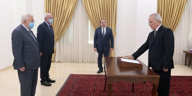 تعيين سمير الرفاعي سفيرا لفلسطين لدى سوريا