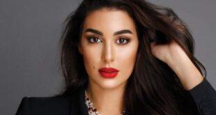 ياسمين صبري تخطف الانفاس في حفل زفاف ابنة رجل اعمال سوري