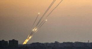 إطلاق عدد من الصواريخ من جنوب لبنان باتجاه مواقع اسرائيلية