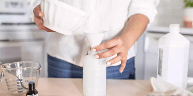 بخطوات بسيطة ومكونات رخيصة... اصنع مطهر اليدين في المنزل