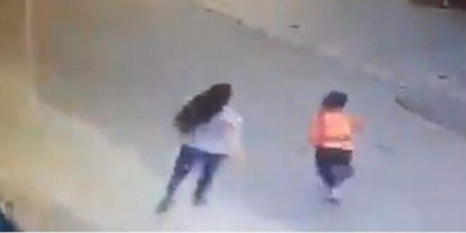 اللبنانية المعتدية على طفل سوري بقبضة الأمن