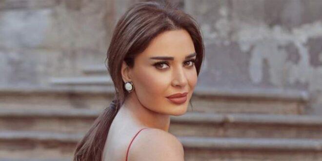 شاهدوا فستان سيرين عبد النور المميز
