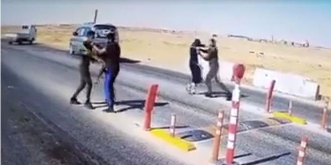 فيديو يكشف كيف قتل مسؤول أمن حواجز