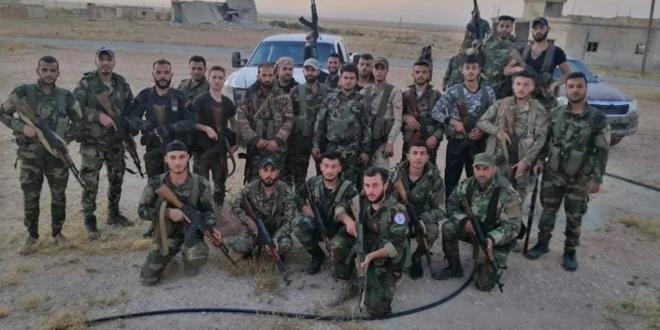 هجوم عنيف على مواقع الجيش السوري في ريف حماه يسفر عن شهيد