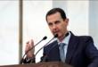 الرئيس الأسد يؤدي صلاة عيد الفطر في الجامع الأموي
