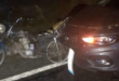 سيارة تصدم شابين على دراجة نارية في اللاذقية وتلوذ بالفرار