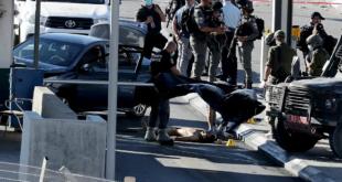 جنود اسرائيليين في عملية دهس في القدس