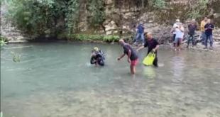 انتشال جثتين من نهر سرجبال بمنطقة الشوف تعودان لطفلين سوريين
