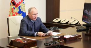 بوتين يتحدث عن العمليات العسكرية في سوريا
