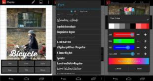 أفضل تطبيقات الكتابة على الصور في أندرويد