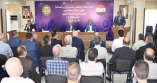 وزير الصناعة لصناعيي حلب