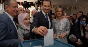 الأسد في دوما.. اقتراع المنتصر وليس اقتراع المرشح