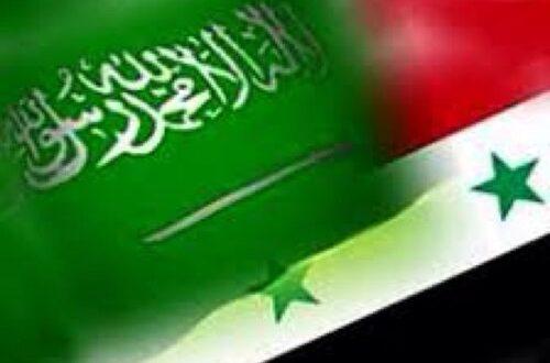 """خالد العبود: حقيقة المعادلة: """"سين - سين"""" ( السعودية - سوريا) !!"""