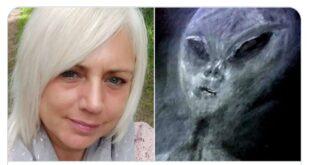 سيدة بريطانية تقول ان كائنات فضائية اختطفتها 52 مرة!!