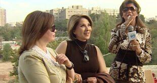 إلهام شاهين وبوسي تزوران سوريا للسياحة وشراء الملابس