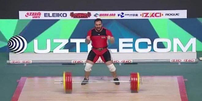 لاعب سوري يحقق المركز الرابع على مستوى العالم برفع الأثقال