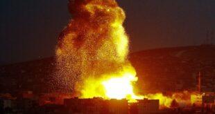 الولايات المتحدة تشن ضربات جوية على منطقة البوكمال على حدود العراق وسوريا