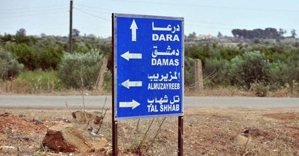 جــريمـتان تهزان درعا جنوب سوريا
