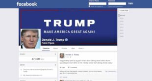 فيسبوك يعلن عن تعليق حساب ترامب لمدة عامين!!