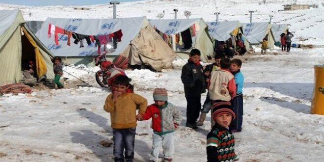 مساعدات اللاجئين السوريين