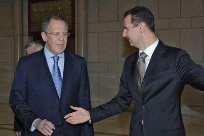 لافروف: هذا هو رأيُنا بالأسد