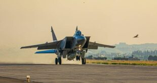 "روسيا تنشر طائرات ""ميغ 31 كي"""