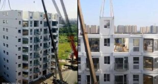 """معجزة"""" صينية ببناء برج سكني في يوم واحد"""