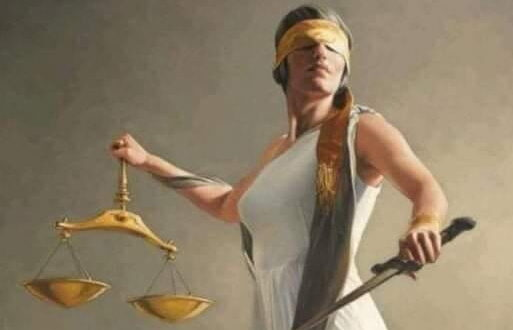 لماذا يرمز للعدالة بامرأة وليس رجل
