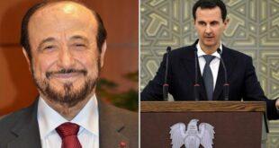 رفعت الأسد يهنىء الرئيس بشار الأسد بفوزه بالانتخابات الرئاسية