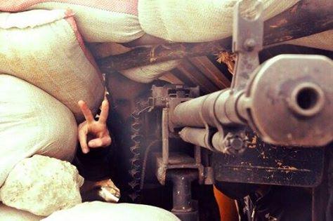 الجيش السوري يدمر آلية للجيش التركي في سهل الغاب