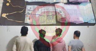 القبض على عصابة سرقة في حمص