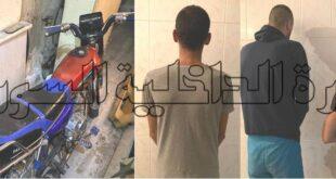 سارقوا سيارات و حقائب نساء في برزة بقبضة العدالة