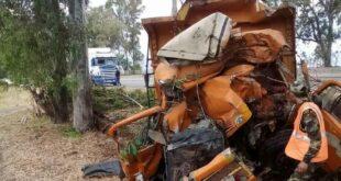 وفاة شخص بحادث سير على اوتستراد حمص طرطوس