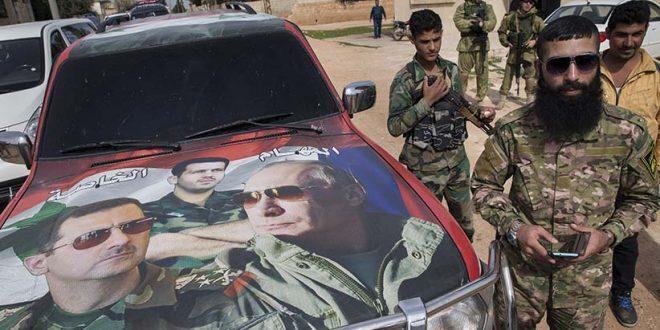 تعزيزات للجيش السوري وروسيا تدفع بشحنات قذائف ليزرية إلى محيط عفرين