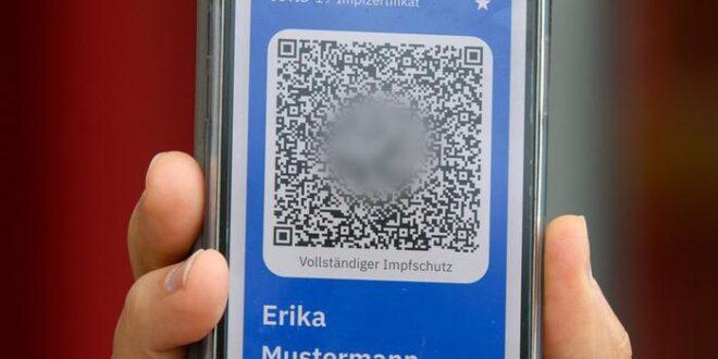 جوازات إلكترونية للملقحين