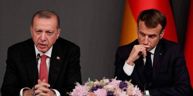 أردوغان مهاجما ماكرون مجددا: نعلم مع من يعمل في ليبيا وسوريا