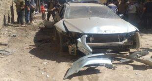 انفجار سيارة مفخخة في مدينة عفرين
