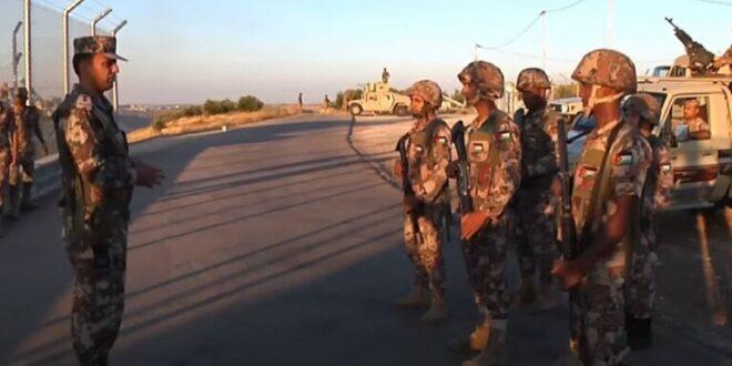 الجيش الأردني يعلن إحباط محاولة تسلل وتهريب مخدرات من سوريا
