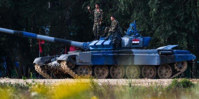 مسابقة بياتلون الدبابات في سوريا