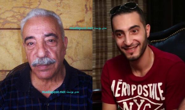 الفنان محمد الشماط وابنه الفنان سمير الشماط