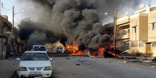 إصابة 8 أشخاص بينهم طفلة بحالة خطرة جراء انفجار عبوة ناسفة بحمص