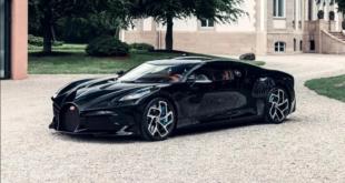بعد سنتين من العمل السري... بوغاتي تكشف عن سيارتها الفريدة La Voiture Noire