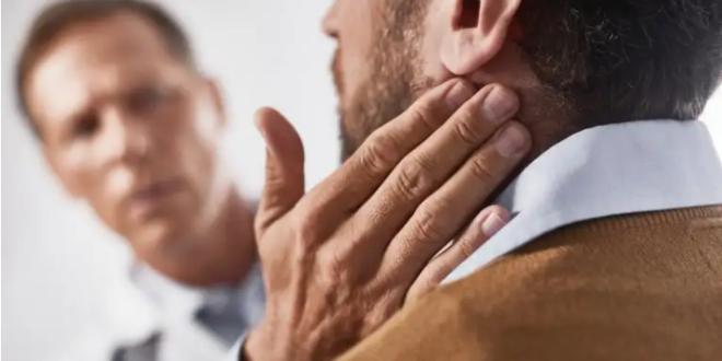 الإصابة بسرطان الغدد الليمفاوية