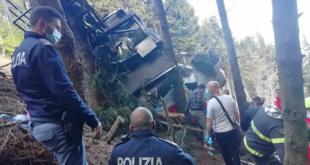 كارثة سقوط التلفريك الإيطالي