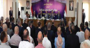 وزير الصناعة العراقي يدعو من حلب إلى تشكيل