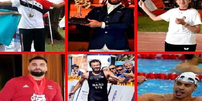 أبطال سوريا في الأولمبياد: إنجازات عربية وآسيوية وعالمية