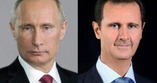 رسالة من الرئيس الأسد الى بوتين