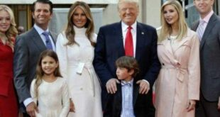 بالصور: ابن ترامب الأصغر يصدم الأميركيين بطوله..